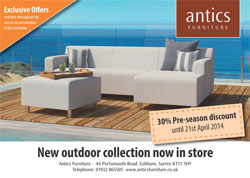 Antics Outdoor Collection Offer