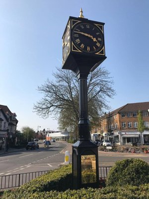 Refurbished Millennium Clock Aprril 2019