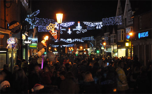 Cobham Christmas High St 2011