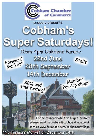 Cobham's Super Saturday Poster