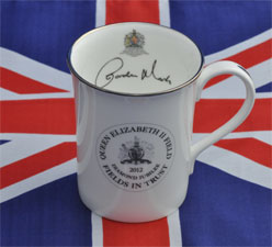 Final Design of the Cobham Diamond Jubilee Mug